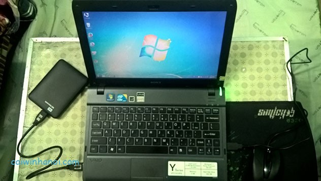 Laptop Sony vaio PCG-31211W-1